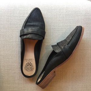 Vince Camuto Black mules flats slip on shoes